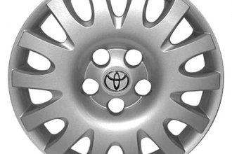 "Replace® - 16"" Remanufactured 14-Spoke Silver Wheel Cover"
