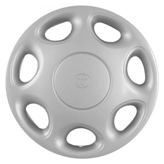 "Replace® - 14"" Remanufactured 7 Oval Holes Silver Wheel Cover"