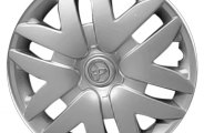 "Replace® - 16"" Remanufactured 12-Spoke Silver Wheel Cover"