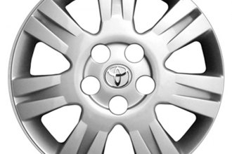 "Replace® - 16"" Remanufactured 7-Spoke Silver Wheel Cover"