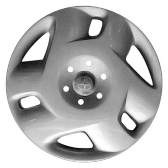 "Replace® - 15"" Remanufactured 6 Spokes Silver Wheel Cover"