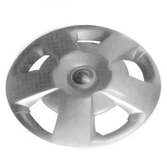 "Replace® - 15"" Remanufactured 5 Spokes Silver Wheel Cover"