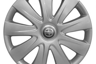 "Replace® - 15"" Remanufactured 9-Spoke Silver Wheel Cover"