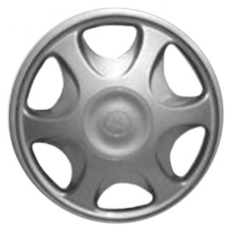 "Replace® - 13"" Remanufactured 6 Vents All Painted Silver Wheel Cover"
