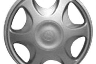 "Replace® - 13"" Remanufactured 6-Vent Silver Wheel Cover"