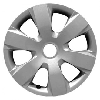 "Replace® - 16"" Remanufactured 6 Spokes Silver Wheel Cover"