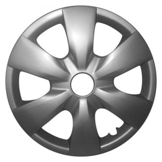 "Replace FWC61139U20 - 14"" Remanufactured 6 Spokes Silver Wheel Cover"