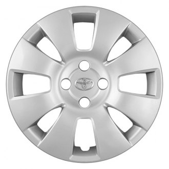 "Replace® - 15"" Remanufactured 8-Spoke Silver Wheel Cover"