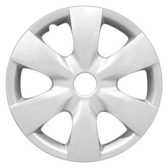 "Replace FWC61141U20 - 15"" Remanufactured 6 Spokes Silver Wheel Cover"