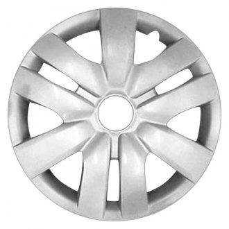 "Replace FWC61142U20 - 14"" Remanufactured 9 Spokes Silver Wheel Cover"