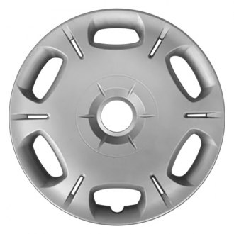 "Replace® - 16"" 6 Split Spokes Silver Wheel Cover"