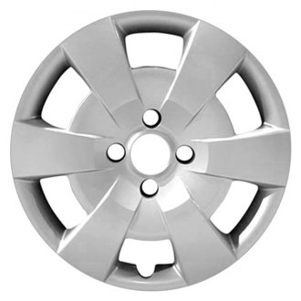 "Replace FWC61153U20 - 15"" Remanufactured 6 Spokes All Painted Silver Wheel Cover"