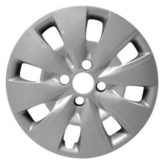 "Replace FWC61154U20 - 15"" Remanufactured 8 Spokes All Painted Silver Wheel Cover"