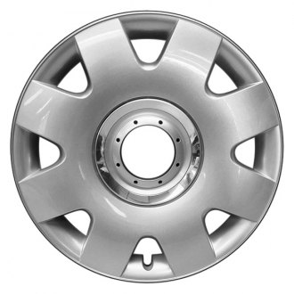 "Replace® - 16"" Remanufactured 8 Spokes Silver Wheel Cover"