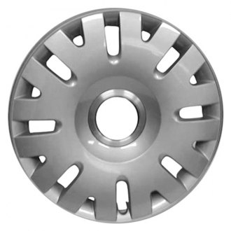 "Replace® - 16"" Remanufactured 16 Slots All Painted Silver Wheel Cover"