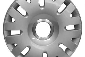 "Replace® - 16"" Remanufactured 16-Slot Silver Wheel Cover"