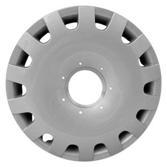 "Replace® - 15"" Remanufactured 14 Spokes All Painted Silver Wheel Cover"