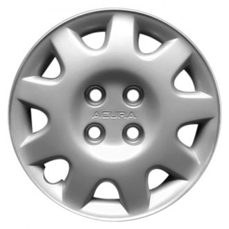 "Replace® - 14"" Remanufactured 9 Spokes Silver Wheel Cover"