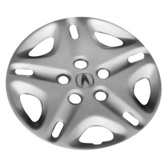 "Replace® - 15"" Remanufactured 10-Spoke Silver Wheel Cover"