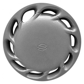 "Replace® - 13"" Remanufactured 10 Slots Silver Wheel Cover"