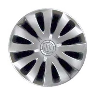 "Replace® - 16"" 12 Spokes Silver Wheel Cover"