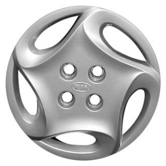 "Replace® - 14"" Remanufactured 5 Holes Silver Wheel Cover"