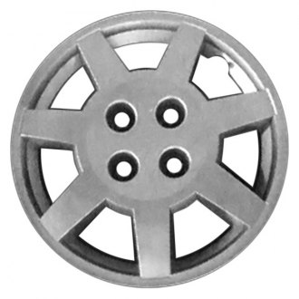 "Replace® - 14"" 7 Flat Spokes Silver Wheel Cover"