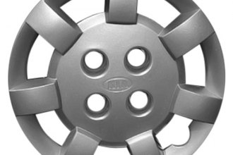 "Replace® - 13"" Remanufactured 7-Spoke Silver Wheel Cover"