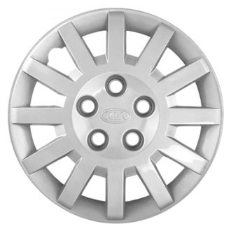 "Replace® - 15"" Remanufactured 12 Spokes Silver Wheel Cover"