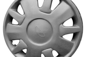 "Replace® - 14"" Remanufactured 9-Spoke Silver Wheel Cover"