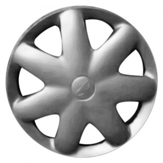 "Replace FWC66504U20 - 14"" Remanufactured 7 Round Spokes Silver Wheel Cover"