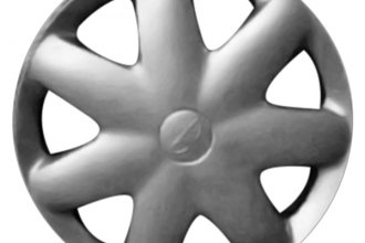 "Replace® - 14"" Remanufactured 7-Round-Spoke Silver Wheel Cover"