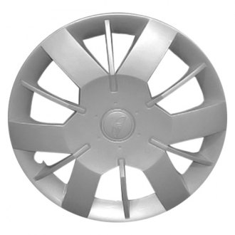 "Replace® - 14"" Remanufactured 12 Spokes Silver Wheel Cover"
