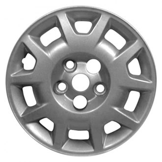 "Replace® - 15"" Remanufactured 10 Spokes Silver Wheel Cover"
