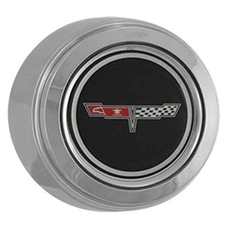 Replace® - Chrome Wheel Center Cap Set