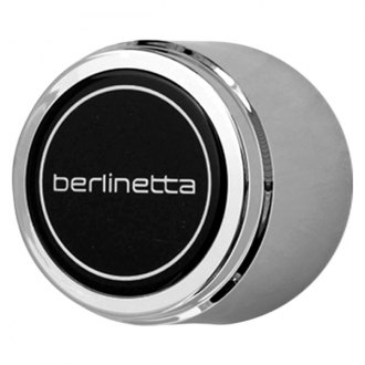 Replace® - Chrome with Black Center Wheel Center Cap Set