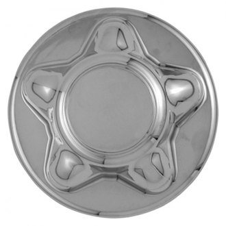 Replace® - Triple Chrome Plated Wheel Center Cap Set