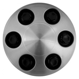 Replace® - Brushed Aluminum Wheel Center Cap Set