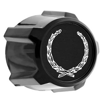 Replace® - Black Wheel Center Cap Set