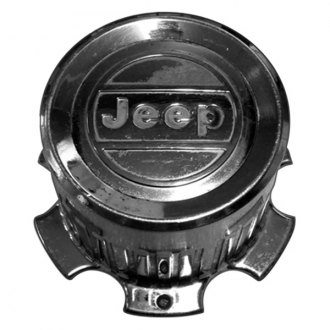 Replace® - Remanufactured Chrome Wheel Center Cap With Jeep Logo