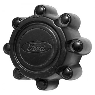 Replace® - Remanufactured Black Wheel Center Cap With Ford Logo