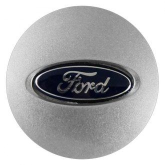 "Replace® - 2.5"" Remanufactured Silver Wheel Center Cap With Ford Logo"