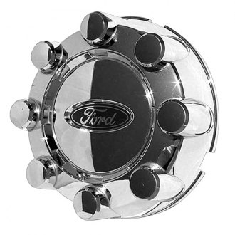 Replace® - Remanufactured Chrome Open Wheel Center Cap With Ford Logo