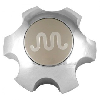 Replace® - Remanufactured Chrome Wheel Center Cap With Beige Insert and Chrome Logo