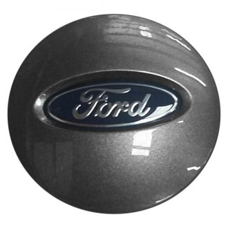 Replace® - Remanufactured Charcoal Gray Wheel Center Cap With Ford Logo