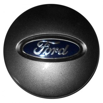 Replace® - Remanufactured Medium Hypersilver Wheel Center Cap With Ford Logo