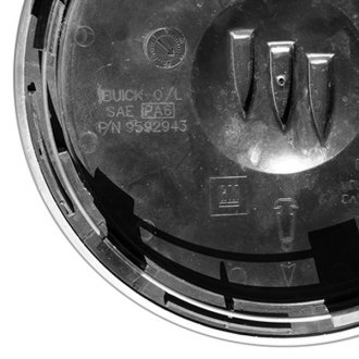 Replace® - Remanufactured Machined Wheel Center Cap With BUICK Logo