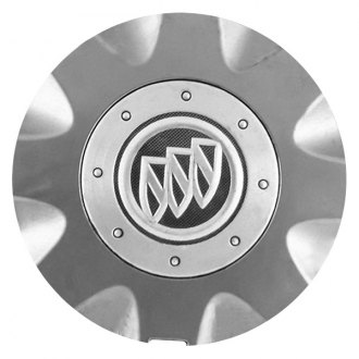 Replace® - Remanufactured Gray Wheel Center Cap With BUICK Logo