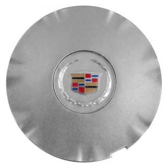 Replace® - Remanufactured Silver Wheel Center Cap With Cadillac Logo