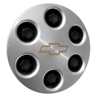 Replace® - Remanufactured Machined Wheel Center Cap With Chevrolet Logo
